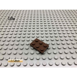 LEGO® 10Stk 2x3 Platte Brick Braun, Brown 3021 148