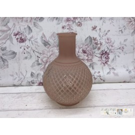 Clayre & Eef  Vase Blumentopf Rosa Pink Shabby 6GL2351P