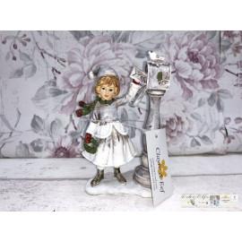 Clayre & Eef Kind Briefkasten Vogel Weihnachten Winter Dekoration 6PR2789