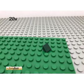 LEGO® 20Stk 1x1 30° Fliese Platte Schrägstein Dunkelgrün,Dark Green 54200 69