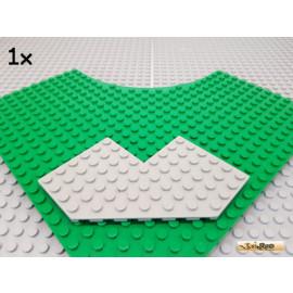 LEGO® 1Stk Keil / Flügelplatte Winkel 10x10 alt-hellgrau 2401