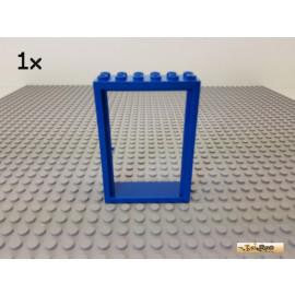 LEGO® 1Stk Tür / Türrahmen 2x6x7 blau 4071