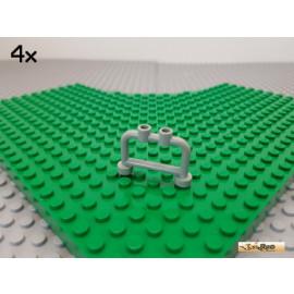 LEGO® 4Stk Gitter / Zaun / Absperrung 1x4x2 alt-hellgrau 4083