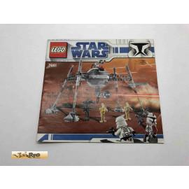 Lego 7681 Bauanleitung NO BRICKS!!!! Star Wars
