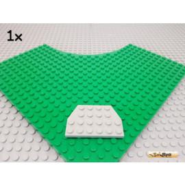 LEGO® 1Stk Keil / Flügelplatte 4x6 alt-hellgrau 32059
