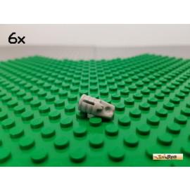LEGO® 6Stk Technic Rastergelenk / Scharnier alt-hellgrau 30552