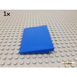 LEGO® 1Stk Platte / Rampe / Dach 6x8 blau 4515