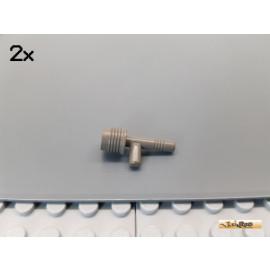LEGO® 2Stk Fackelhalter / Waffe alt-dunkelgrau 3959