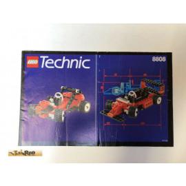 Lego 8808 Bauanleitung NO BRICKS!!!!