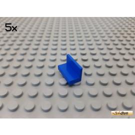 LEGO® 5Stk Platte / Fliese / Bank 1x2x1 blau 4865