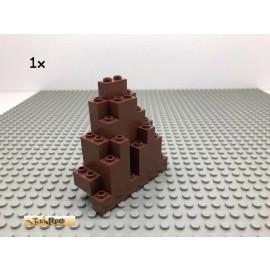 LEGO® 1Stk Spitz Fels Ritter Burg Brick Rotbraun, Reddish Brown 6083 2