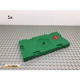 LEGO® 1Stk 8x16 Bauplatte Fußballfeld mit Sticker Grün, Green 30489 253