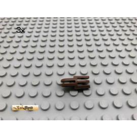 LEGO® 3Stk Greifarm Gelenk Brick Braun, Brown 3612 4220 4221 107