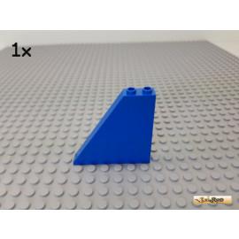 LEGO® 1Stk Paneel / Wand / schräg 1x6x5 blau 30249