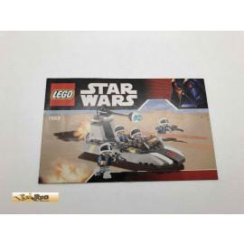 Lego 7668 Bauanleitung NO BRICKS!!!! Star Wars