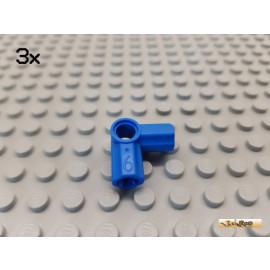 LEGO® 3Stk Technic Pin Verbinder Nr. 6 blau 32014