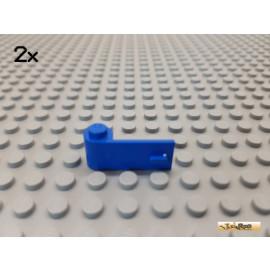 LEGO® 2Stk Tür / Autotür links 1x3 blau 3822
