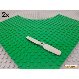 LEGO® 2Stk Propeller / Rotorblatt alt-hellgrau 2952