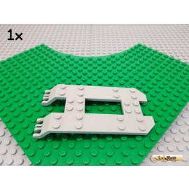 LEGO® 1Stk Anhänger / Auflieger / Platte 6x12 alt-hellgrau 30263