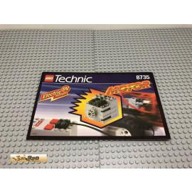 LEGO® 8735 Bauanleitung NO BRICKS!!!! Technic