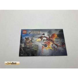 Lego 7017 Bauanleitung NO BRICKS!!!! Wikings