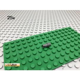 LEGO® 25Stk Technic 3/4 Connector Pin Grau, Dark Gray 32002