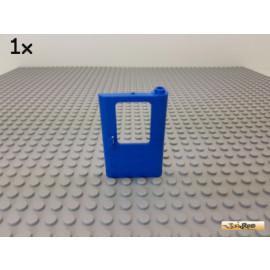LEGO® 1Stk Tür / Eisenbahn rechts 1x4x5 blau 4181