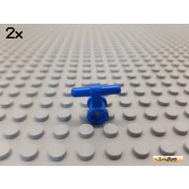 LEGO® 2Stk Technic Pneumatik Verbinder blau 99021