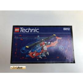 Lego 8812 Bauanleitung NO BRICKS!!!!