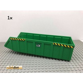 LEGO® 1Stk 24x7 Kipper Anhänger Auflage Grün, Green 57781 7998 251