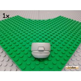 LEGO® 1Stk System Sports Maske alt-hellgrau