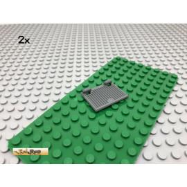 LEGO® 2Stk Fensterladen Dunkel Grau, Dark Gray 60800