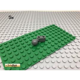 LEGO® Technic 5Stk Liftarm mit Kugelkopf Dunkel Grau, Dark Gray 50923