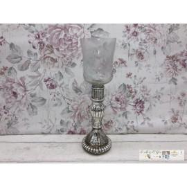 Windlicht groß Glas Kerzenhalter Tischdeko Teelicht Teelichthalter