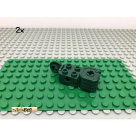LEGO® 2Stk 2x2 Technic Rotation Gelenk Faust Dunkelgrün, Dark Green 47431 31