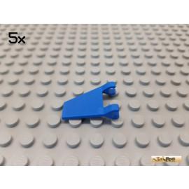 LEGO® 5Stk Fahne / Flagge mit 2 Clips 2x2 blau 44676