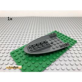 LEGO® 1Stk 6x10 Flugzeug Rumpf Raumschiff Dunkel Grau, Dark Gray 87611