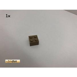 LEGO® 1Stk 2x2 Basicstein Brick Dunkelbeige, Dark Tan 3003 44