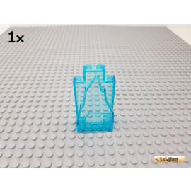 LEGO® 1Stk Felsen / Paneel 2x4x6 transparent blau 33458