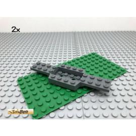 LEGO® 2Stk 4x12 Platte Fahrgestell Auto Dunkel Grau, Dark Gray 52036