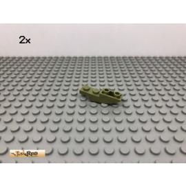 LEGO® 2Stk 1x4 Bogen Stein Negativ Olivgrün, olive green 13547 21