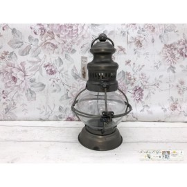 Chic Antique Laterne LED Lampe Tischdekoration 25281-25