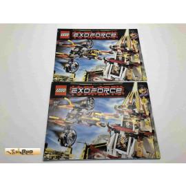 Lego 8107 Bauanleitung NO BRICKS!!!! Exoforce