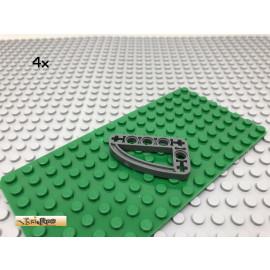 LEGO® 4Stk Technic 3x5 Liftarm dünn Dunkel Grau, Dark Gray 32250