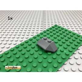 LEGO® 1Stk 2x4 Keilstein Dachstein Dunkel Grau, Dark Gray 47759