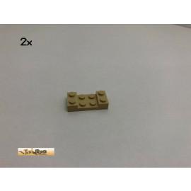 LEGO® 2Stk 2x4 Platte Auto Brick Beige, Tan 121