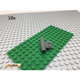 LEGO® 10Stk Flugzeugdüse Triebwerk Düse Dunkel Grau, Dark Gray 3475