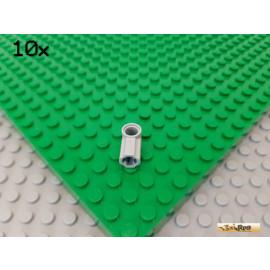LEGO® 10Stk Technic Verbinder Nr. 1 neu-hellgrau 32013