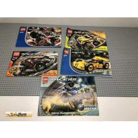 LEGO® 8385 8670 8382 4585 8669 Bauanleitung NO BRICKS!!!!
