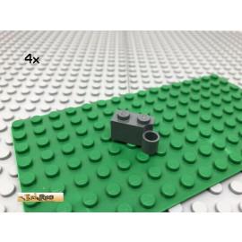 LEGO® 4Stk 1x2 Scharnier Gelenkstein Dunkel Grau,Dark Gray 3831
